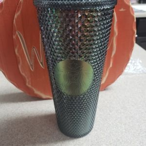 New Starbucks black studded cup
